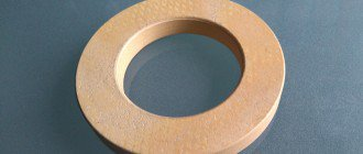 Rudder Bearing made from Maritex